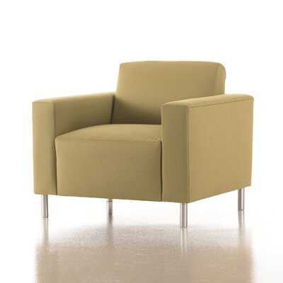 Vibe Lounge Chair in Grade 3 Vinyl Color: Vinyl Onyx