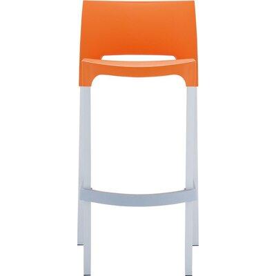 29.52 Bar Stool Upholstery: Orange
