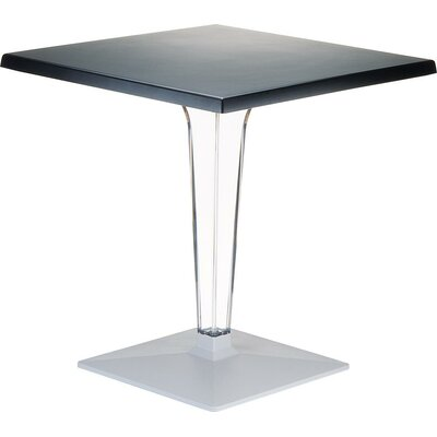 Ice Dining Table Finish: Black