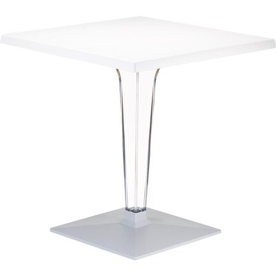 Ice Dining Table Finish: White