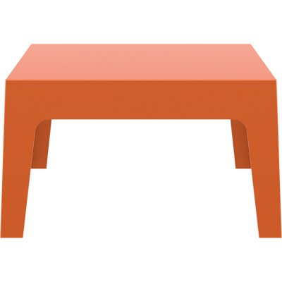 Box Coffee Table Color: Orange