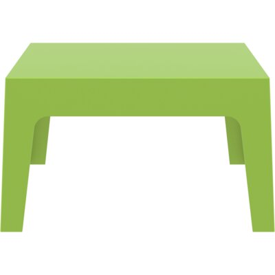 Box Coffee Table Finish: Green