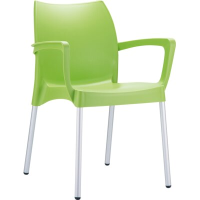 Dolce Arm Chair Finish: Light Green