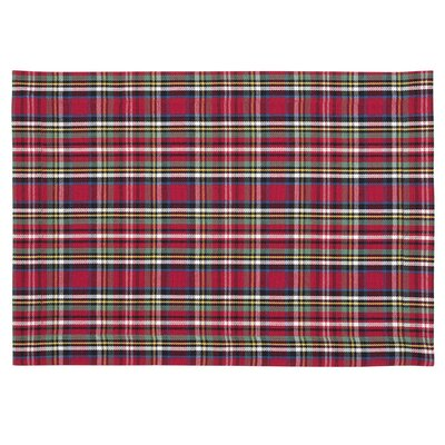 Holiday Plaid Placemat PM 31080-S4