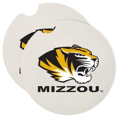 NCAA Car Coaster NCAA Team: Missouri Tigers 19554