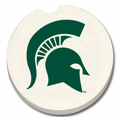 NCAA Car Coaster NCAA Team: Michigan State Spartans 19544