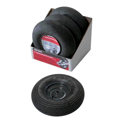 Ames True Temper Wheelbarrow Wheel And Tire Ass Black 6 Inch T14CC\000372