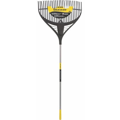 Collector Series Leaf Rake in Black