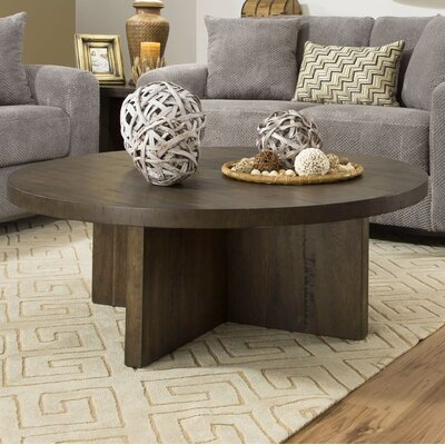 Godwin Rustic Coffee Table Color: Oak