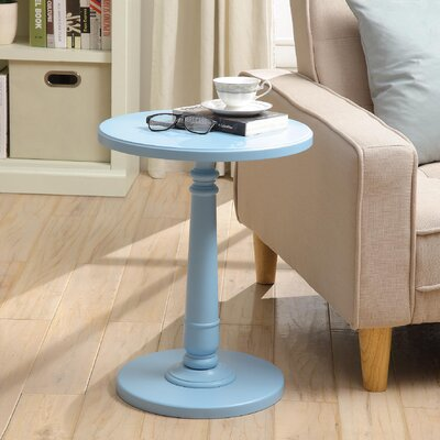 Haley End Table Finish: Light Blue