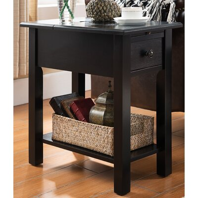 Sutton End Table Finish: Black
