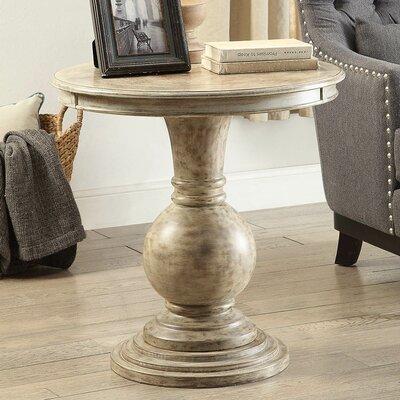 Loganville Pedestal End Table