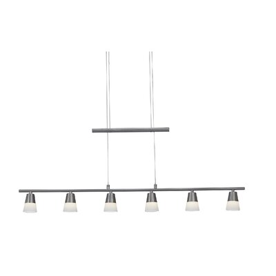 Aerial 6-Light Kitchen Island Pendant
