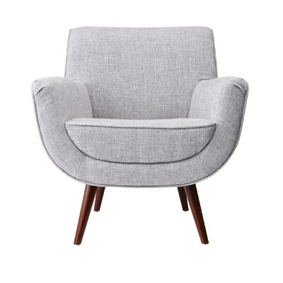 Cormac Armchair Upholstery: Light Gray