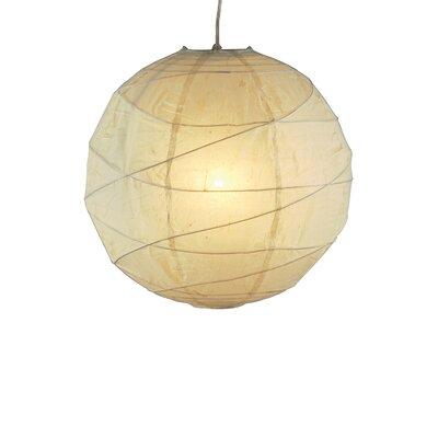 Orb 1-Light Pendant Size: Small