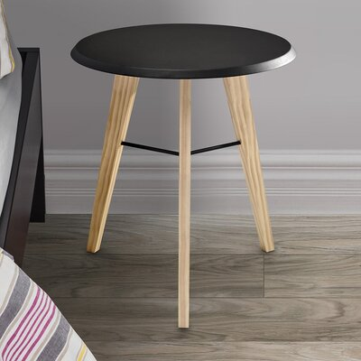 Jaxon Nightstand Color: Black