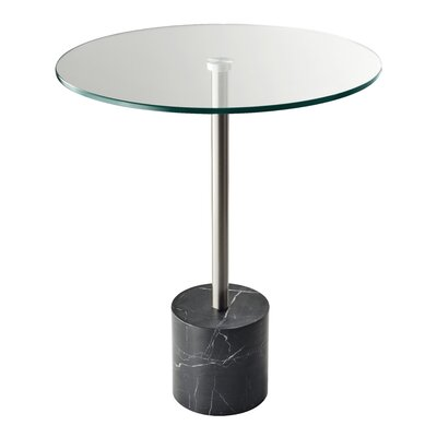 Blythe End Table Finish: Black Marble