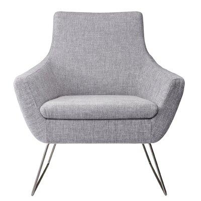 Kendrick Arm Chair Upholstery: Light Gray