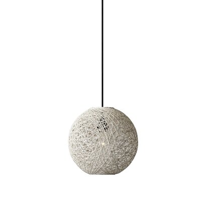 Hutcherson 1-Light Globe Pendant Size: 10 H x 11 W x 11 D