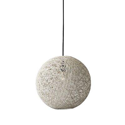 Hutcherson 1-Light Globe Pendant Size: 13.5 H x 15 W x 15 D