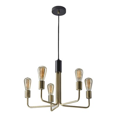 Kaylen 5-Light Sputnik Chandelier