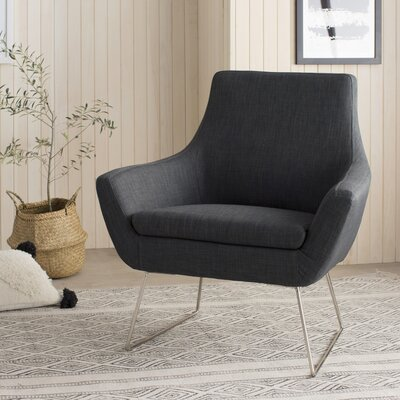 Kendrick Armchair Upholstery: Charcoal Gray