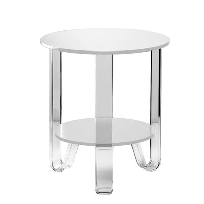 Jocelyn End Table Finish: White