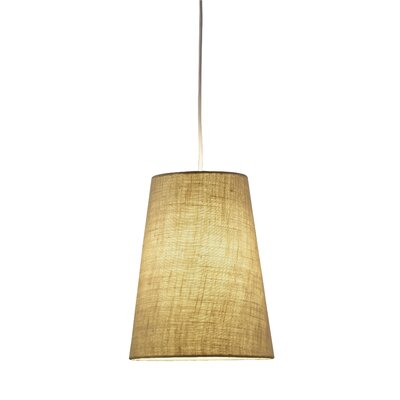 Harvest 1-Light Mini Pendant Finish: Burlap