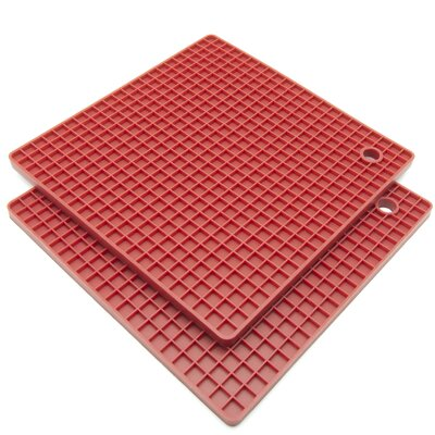 Silicone Honeycomb Pot Holder and Trivet KT-220RD