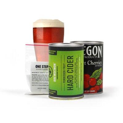 2 Gal Red Tart Cherry Hard Cider Refill Kit 91040