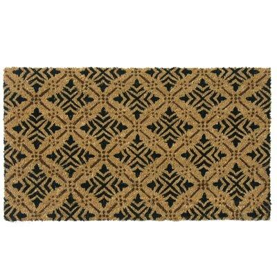 Classic Fleur de Lis French Home Doormat Rug Size: 18