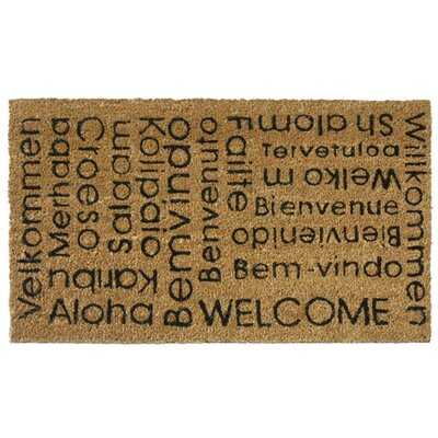 Cal In Any Language It Is Still a Welcome Doormat