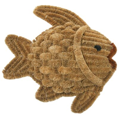 Fish Scraper Decorative Doormat