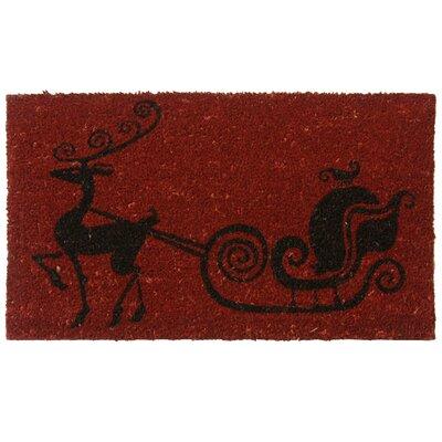 Santa Sleigh Doormat