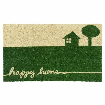 Happy Home Country Welcome Doormat