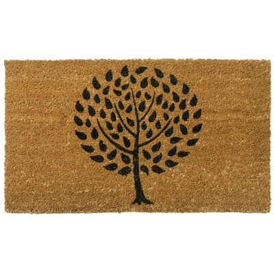 Modern Landscape Contemporary Doormat Rug Size: 16 x 26