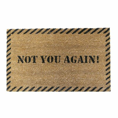 Not You Again Unwelcome Doormat