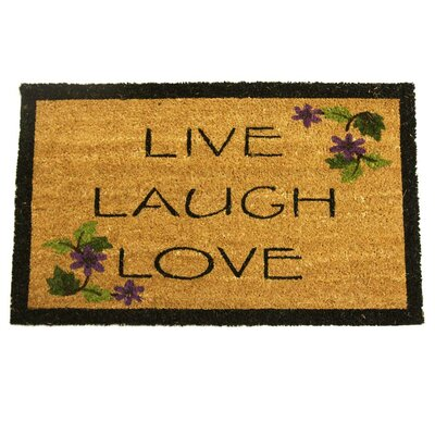 Live, Laugh, Love Novelty Doormat