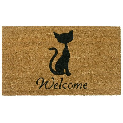 Jefferson Street Meow Cat Welcome Doormat