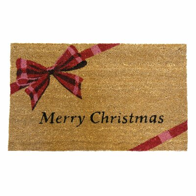 A Gift! Merry Christmas Doormat