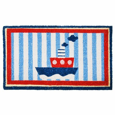 Welcome Aboard Mat! Nautical Doormat