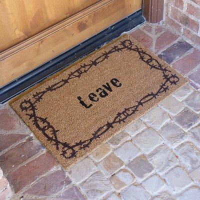 Leave Unwelcome Doormat