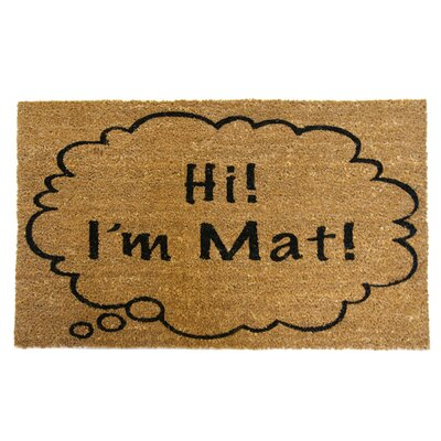 Hi Im Mat Funny Doormat