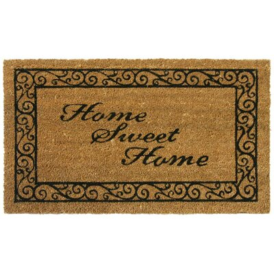 Home Sweet Home Welcome Doormat
