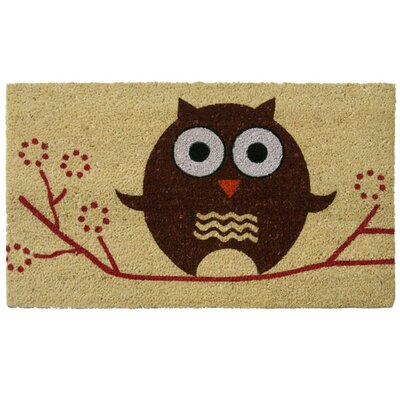 Hooos There? Owl Doormat