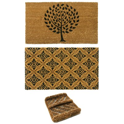 3 Piece French Country Doormat Set