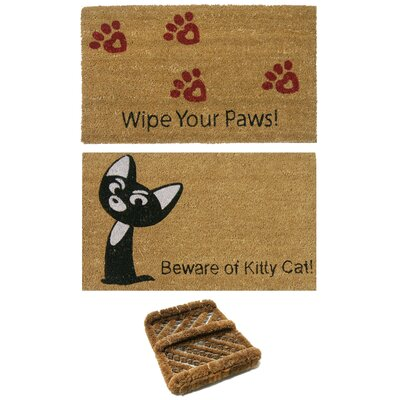 Cat Lovers Doormat Set