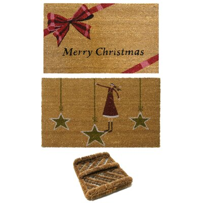 Christmas Doormat Set