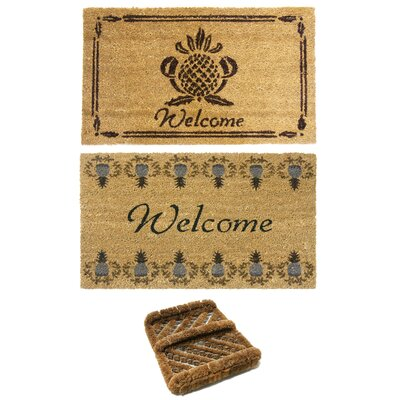 Coastal D�cor Doormat Set