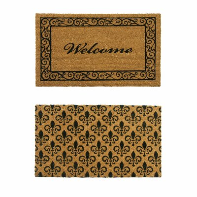 Double Wide Doormat Set